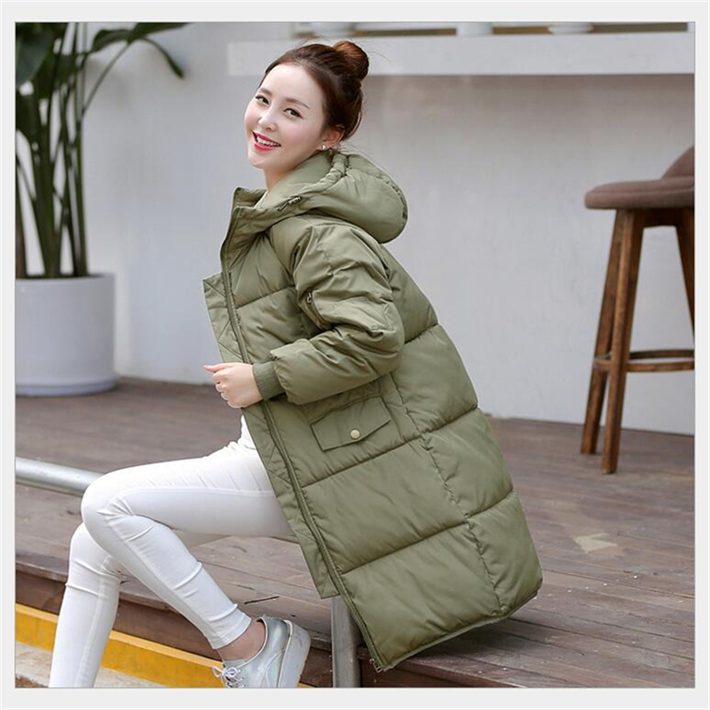 2016 New Aarrivals Fashional Women jacket Hoody Long Style Warm Winter Coat Women Plus Size cotton-padded Parkas M~XXXL 16450 geckoistail 2017 new fashional women jacket thick hooded outwear medium long style warm winter coat women plus size parkas