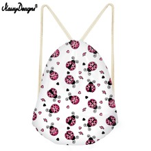 Noisydesigns High Quality Drawstring Bag For Desigual Ladybug Small Children Bac