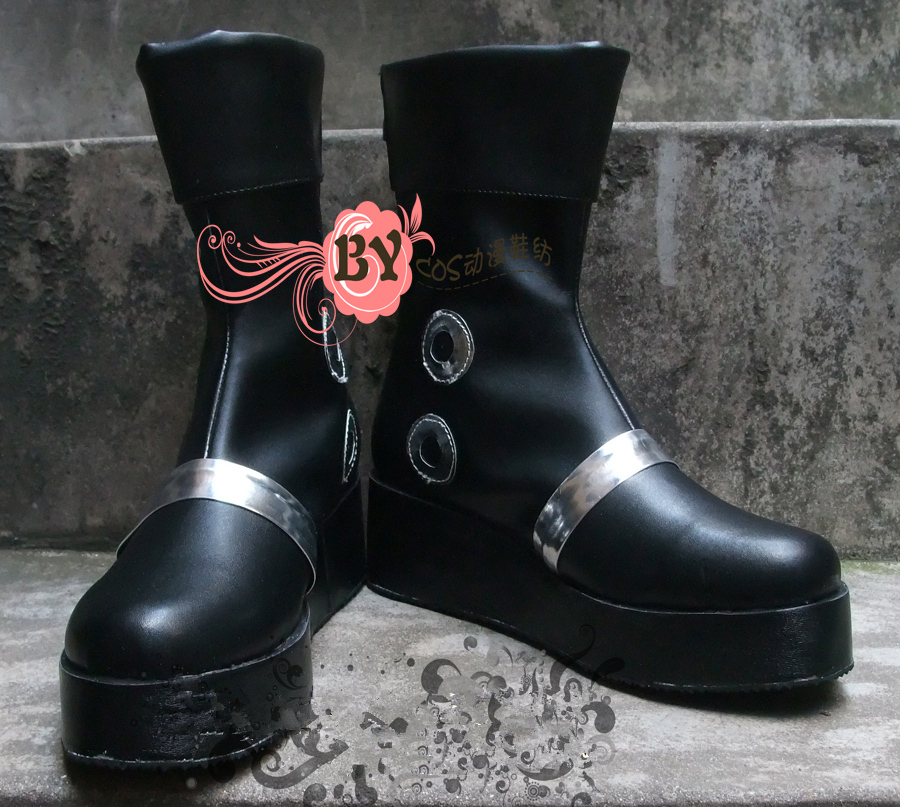 Customized One Piece Portgas D Ace Cosplay Shoes Anime Boots