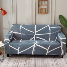 Modern Decorative All Inclusive Striped Print Armrest Slipcovers Geometric Sofa Cover Elastic Sectional Cover1