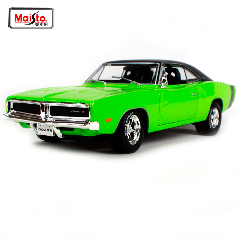 Maisto 1:18 1969 DODGE Charger R/T Lnvolving Muscle Old Car model Diecast Model Car Toy New In Box Free Shipping NEW ARRIVAL image