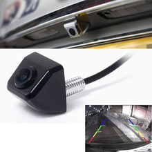Russian USA native ship wired / Wireless Blk Car Rear View CCD 170degree  Front&Back View Forward Camera Reverse Backup Parking