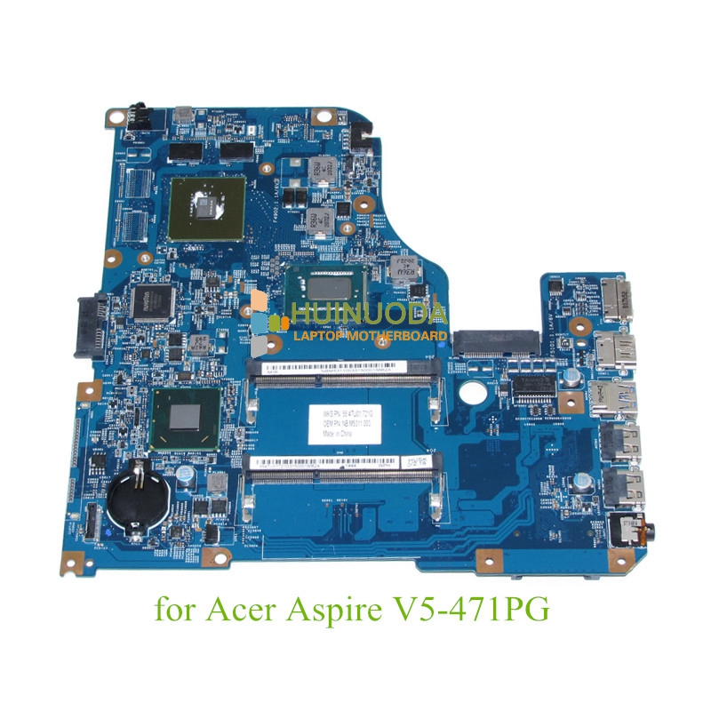 NOKOTION 48.4TU05.021 NBM5311003 NB. M5311.003 Pour acer aspire V5-471 V5-471PG Portable carte mère GeForce GT710M + i5-3337U CPU