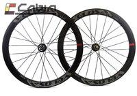 Розетки, Velosa диск 50 мм 700C дорожный мотоцикл дисковый тормоз углерода колесо, 50 мм довод/tubular Велокросс колеса