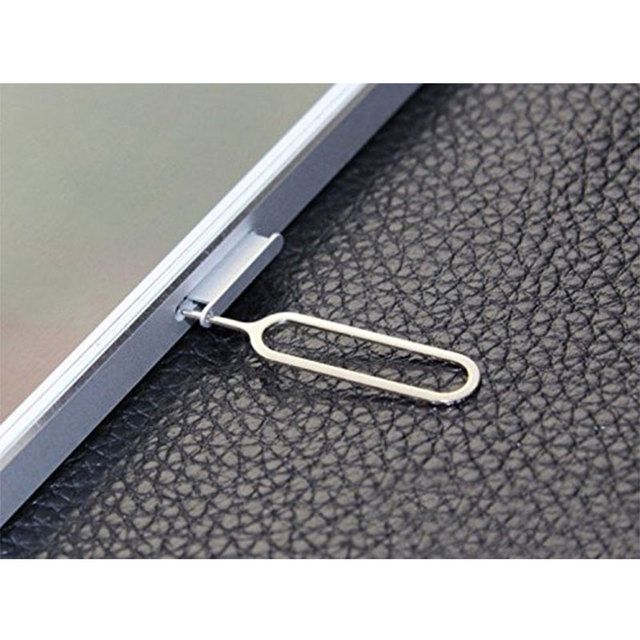 10PCS Sim Card Remover Tray Open Sim Card Eject Tool Sim Pin Key For iPhone XS Max XR X 8 Plus Xiaomi mi 9 Samsung S10 Plus S10+ 6