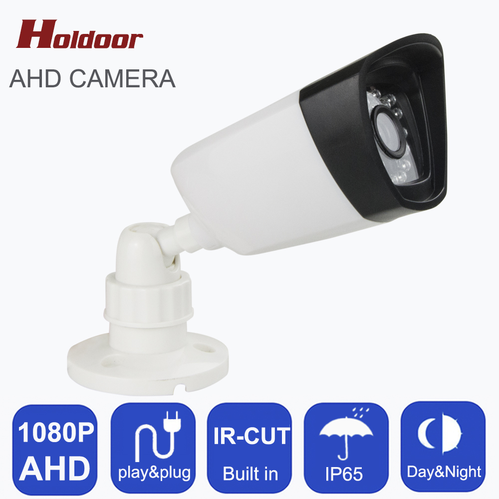 CCTV Camera AHD Camera 2.8-8mm Lens 24pcs LEDS Night Vision Analog AHD 1080P HD 2MP IR-CUT Filter IP65 Waterproof  Surveillance