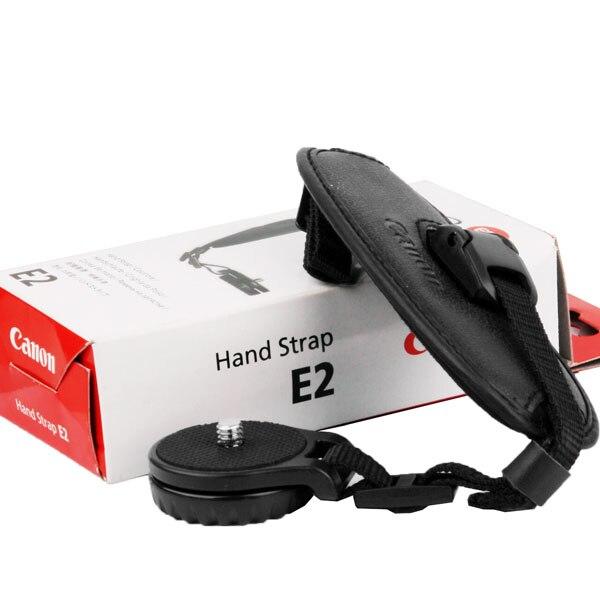 New E2 Hand Grip Wrist Strap for Canon EOS Camera 1D 5D 7D Mark II III 6D 70D 60D 700D 650D 600D 550D 1100D T5i T4i T3i T2i T3 mini flash speedlite mk 320c for canon eos 5d mark ii iii 6d 7d ii 60d 70d 600d 700d t3i t2 hot shoe dslr camera