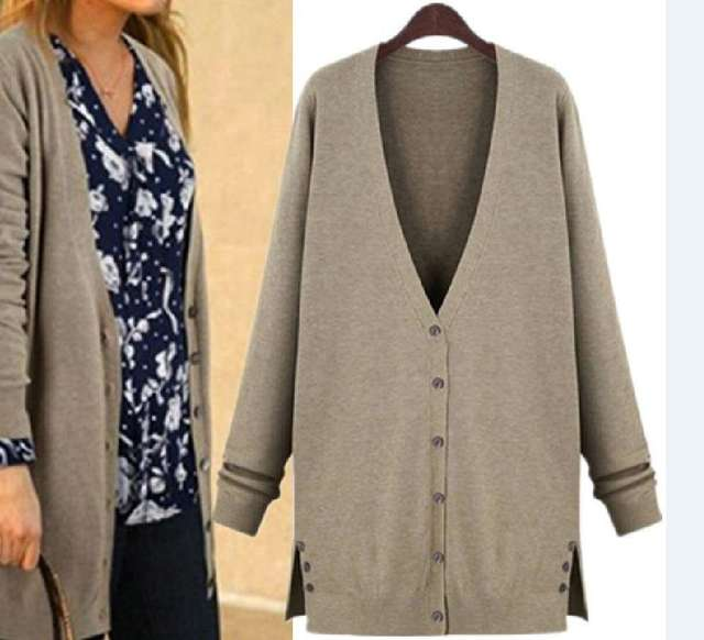 6dda79e65 New Arrive and mast yard womens Autumn Sweater Cardigan long sweater in  Europe outside sleeve jackets