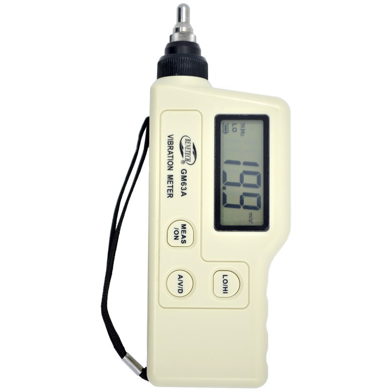 GM63A Handheld Portable LED Digital Vibration Sensor Meter Tester Vibrometer Analyzer Acceleration Without box hight quality gm63a handheld portable led digital vibration sensor meter tester vibrometer analyzer acceleration without box