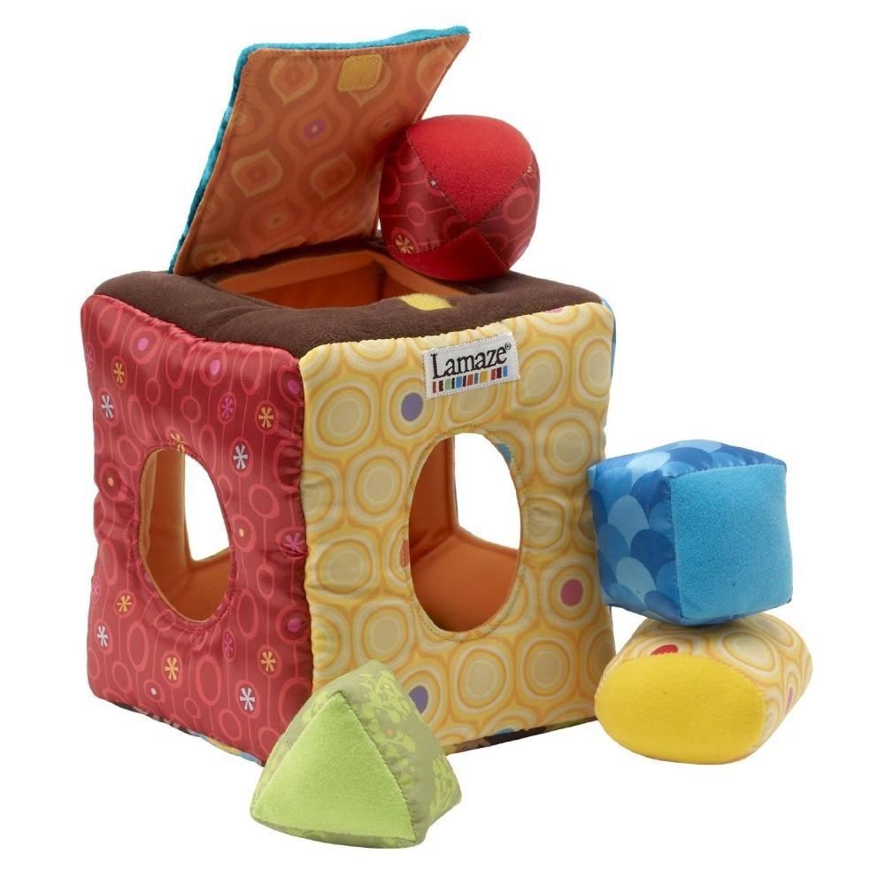 07a6e51a33ea2 € 9.68  Brand baby toys multifunctional clutch cube peekaboo hang/bell baby  rattles toys for baby blocks toys bebe educational toy en Sonajeros de ...