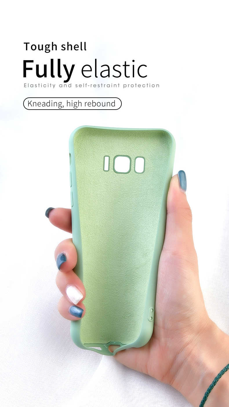 Силиконовый чехол ASINA с милым мультяшным рисунком для samsung Galaxy S8 S9 S10 Plus Простой Прозрачный чехол для samsung Galaxy S10 S9 Plus Funda
