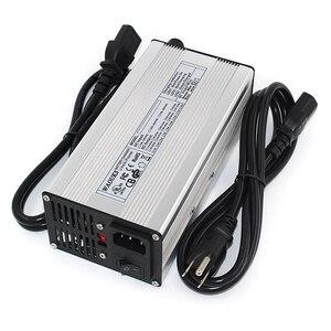 Image 3 - 75.6 v 4a carregador de bateria de lítio para 18 s 66.6 v bicicleta elétrica li ion carregador de bateria