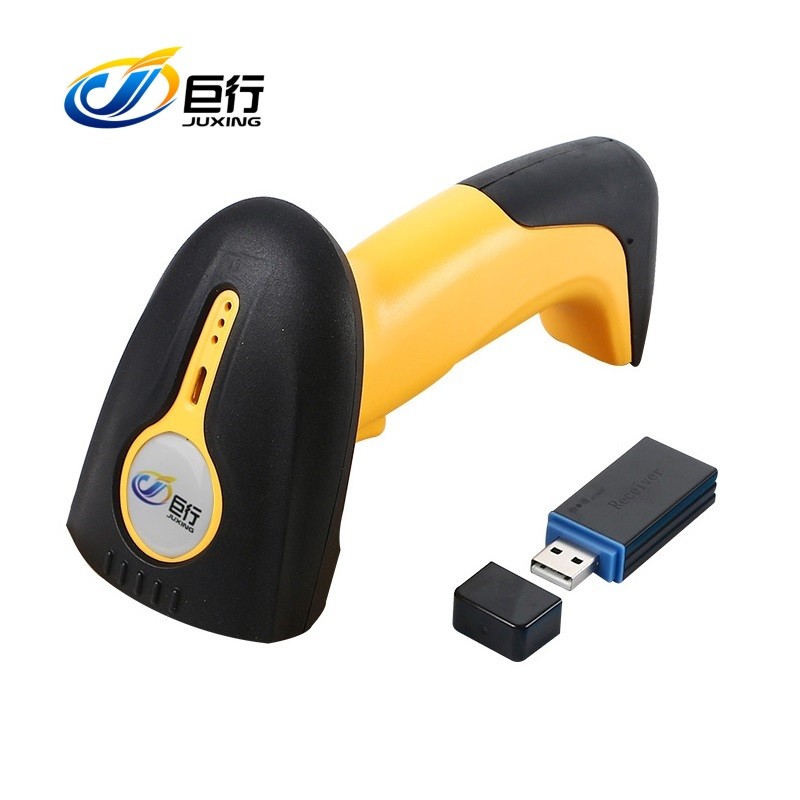 8100W CCD Wireless Barcode Scanner Portable CCD Bar Code Gun for DHL Supermarket 433MHz Wireless Barcode Reader Bar Gun sl 001 pc esd ionizer fan esd ionizing air blower