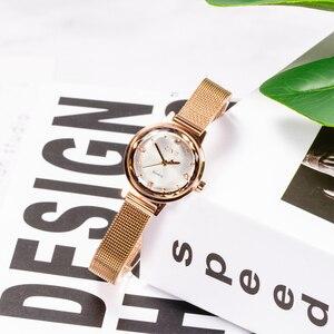 Image 2 - Роскошные повседневные женские часы CIVO 2020, водонепроницаемые кварцевые наручные часы с сетчатым ремешком, женские наручные часы, подарок для жены, женские часы