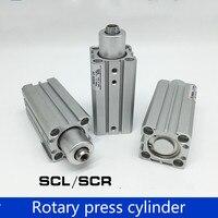 Gas vertikale typ SCR32 SCL16-10/20/30/50 dreh spann und spann lower pressure zylinderdrehzylinder