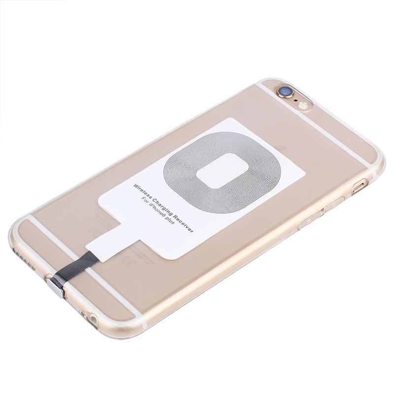 Para o iphone 6s 6plus 7plus 5 5S 5c sem fio carregador receptor módulo remendo qi padrão sem fio receber remendo de carregamento a20