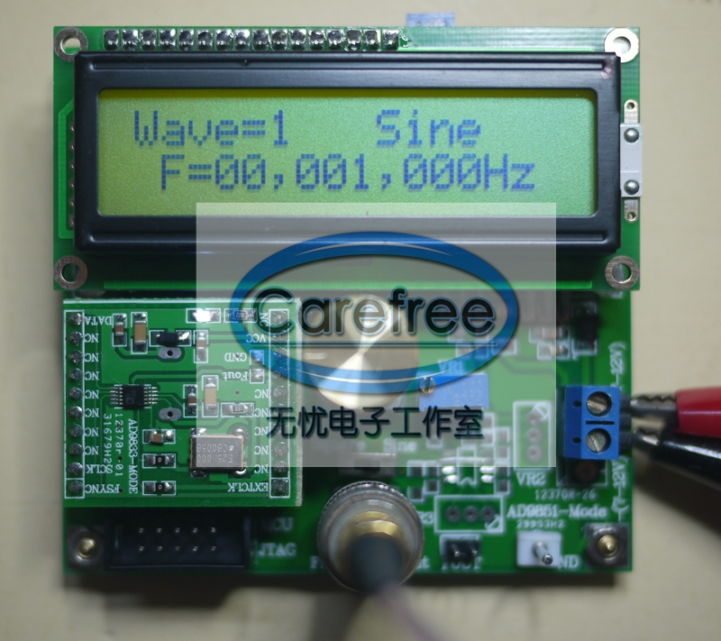 DDS AD9833 signal generator sine wave square wave triangle wave signal source цены онлайн