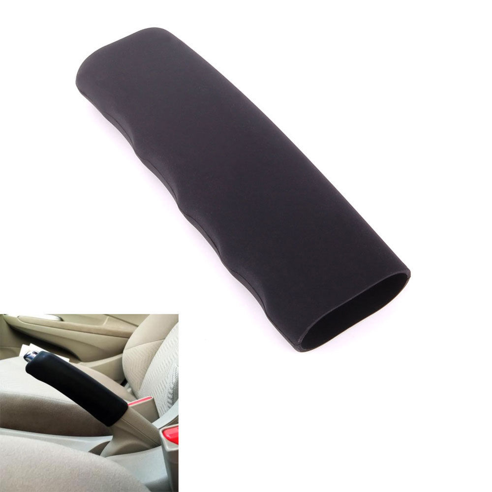Car Silicone Anti Slip Parking Hand Brake Boot Leather Cover Lever Sleeve Fit For Doge Challenger Charger Journey Impreza Legacy