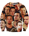 Sweats Unisex Women Men Fashion 3D Nick Miller Paparazzi Crewneck Sweatshirts cool jumper pullover Fashion Clothing Tops