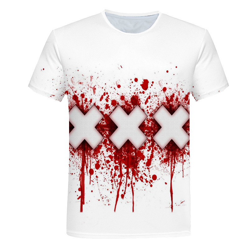 Новейшая футболка Веном с 3D принтом, футболка s для мужчин и женщин, Повседневная футболка с коротким рукавом для фитнеса, футболка Дэдпул, футболки с черепом, топы азиатского размера - Цвет: 747