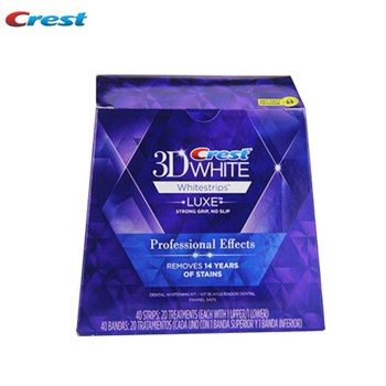 10 Pouch/NoBox Crest 3D Bright White Teeth Whitestrips Professional Effects Tooth Whitener Oral Hygiene Teeth Whitening Strips 1