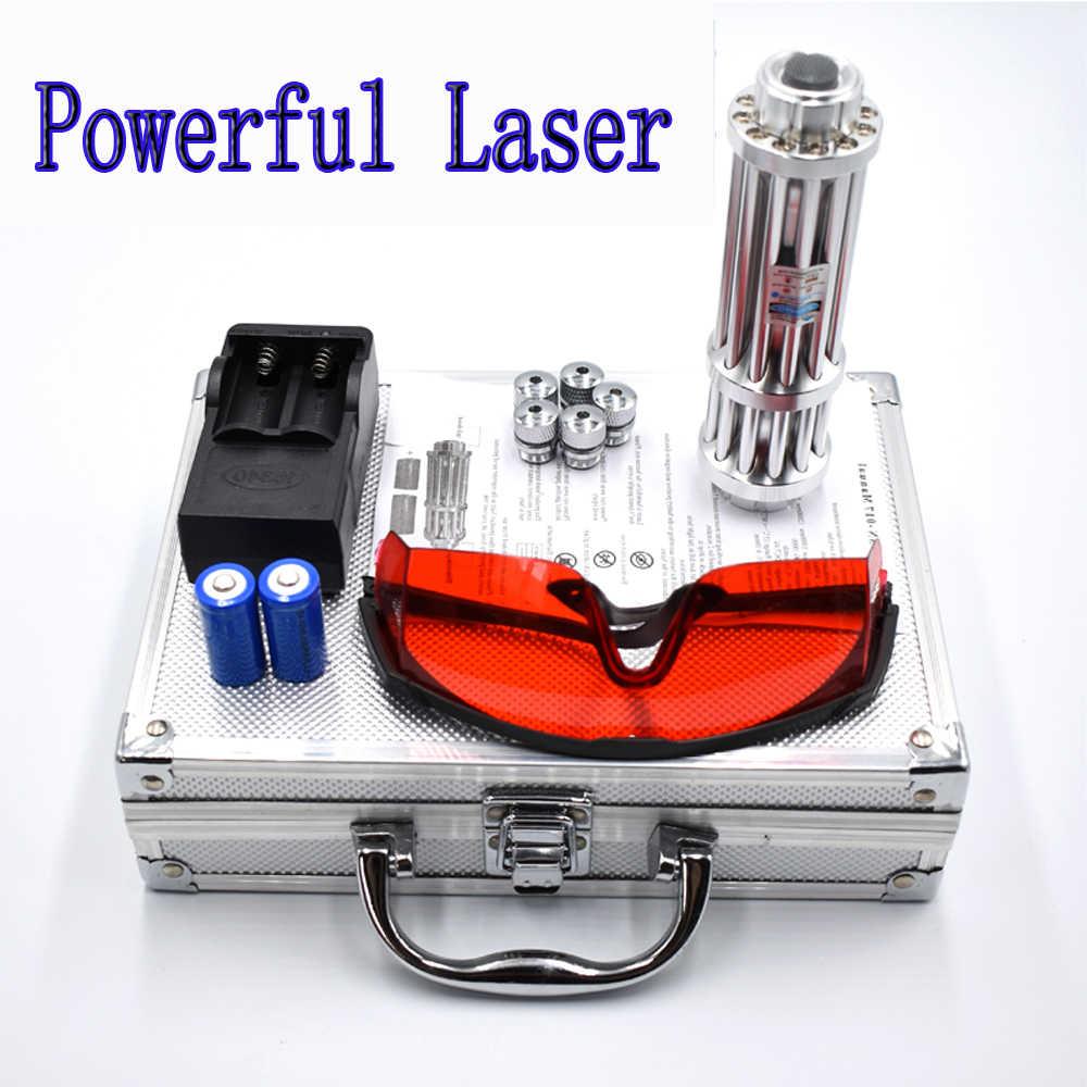שריפת כחול אדום ירוק לייזר מצביע לייזר מצביע עט החזק ביותר לייזר Sight Puntero לייזר Laserpointer שריפת ציד