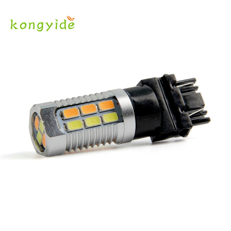 1pc 22 Led 1157 Dual Colors Amber / White Switchback Led Lamps 12 V New Hot Hot Styling Fashion Drop Shipping Sep23 Structural Disabilities
