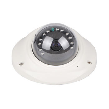 5MP MINI Dome Camera Vandalproof 1.7mm Fisheye Lens 12Pcs IR Leds Infrared Night Vision Wide Angle 180 Degree Security Camera 2mp poe camera 180 degree 360 degree fisheye lens ir distance 40m vandalproof onvif p2p dome cctv security indoor ip camera