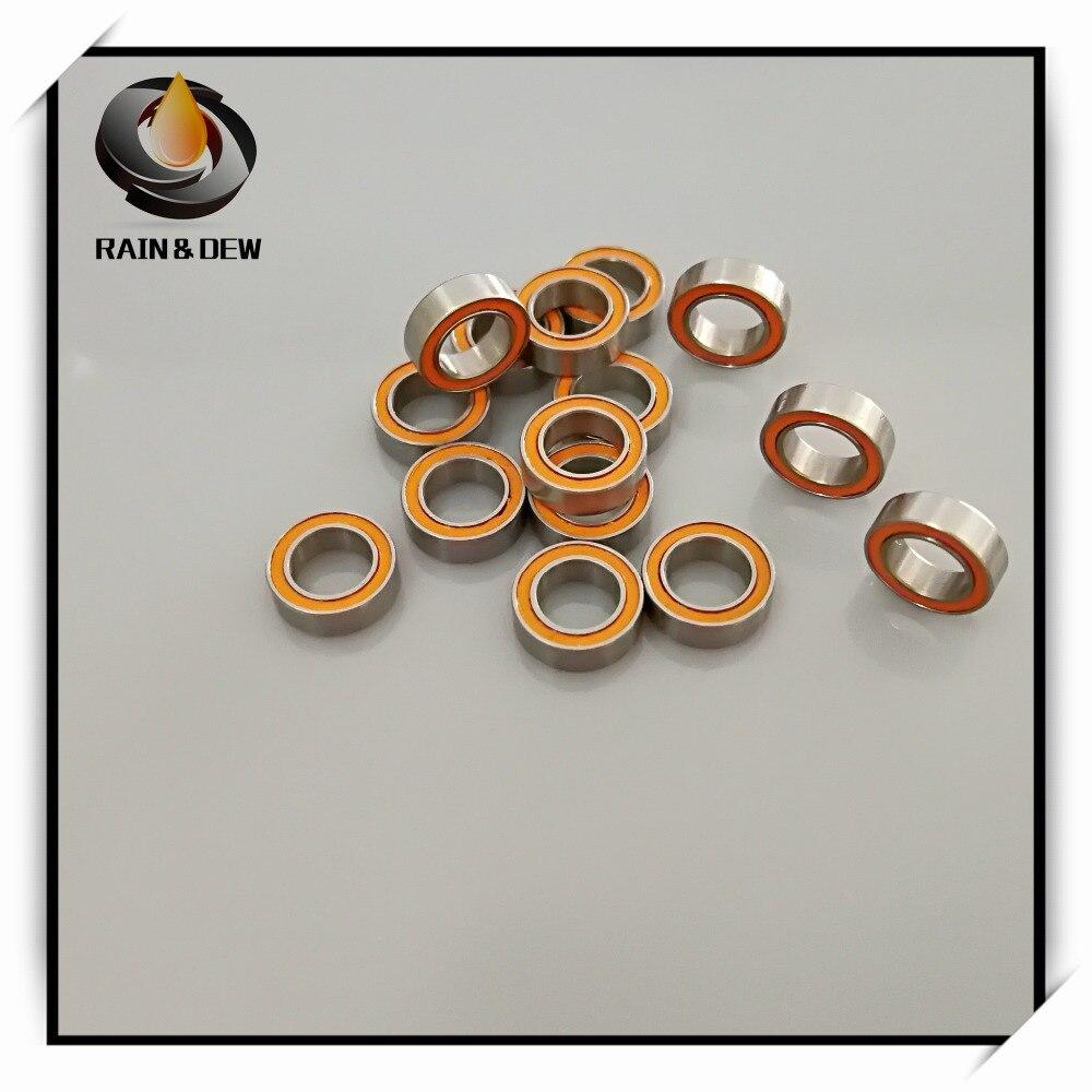 2Pcs SMR85 2RS CB ABEC7 5x8x2.5 mm Stainless steel hybrid ceramic ball bearing By RainDew2Pcs SMR85 2RS CB ABEC7 5x8x2.5 mm Stainless steel hybrid ceramic ball bearing By RainDew
