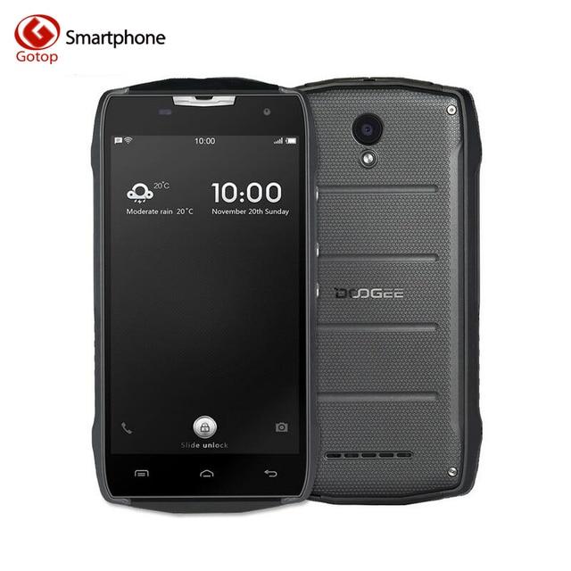 Original Doogee T5S Android 6.0 Smartphone MT6735 Quad Core Mobile Phone 2GB RAM 16GB ROM Waterproof IP67 Dustproof Cell Phone