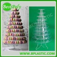 1 Set Clear Acrylic Bottom Holder For Macaron Display Stand Macaron Tower Macaron Tree