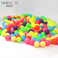 Huieson 100Pcs Pack Colored Ping Pong Balls 40mm 2 4g Entertainment Table Tennis Balls Mixed Colors