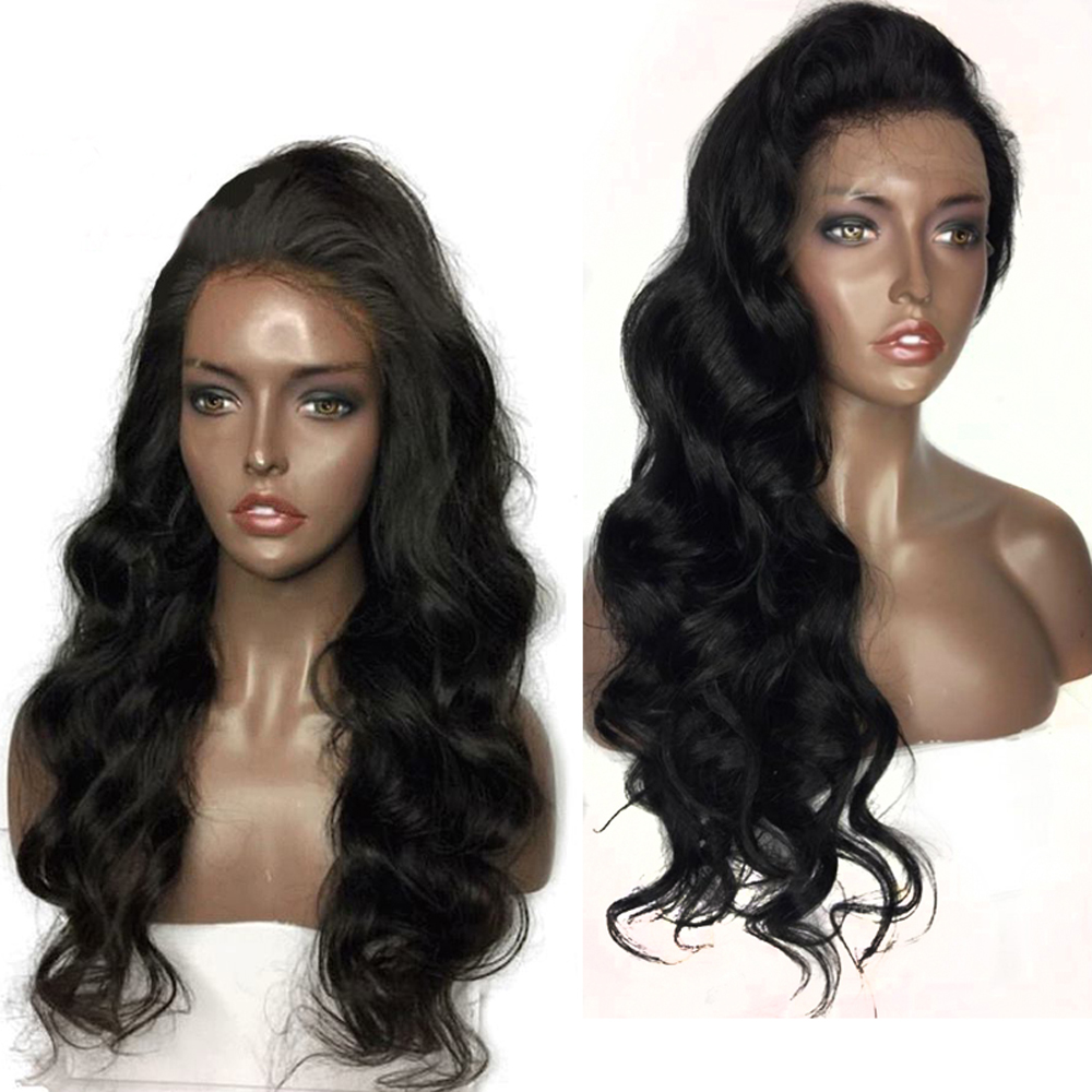 Eversilky Body Wave Full Lace Human Hair Wigs With Baby Hair Brazilian Remy Hair Lace Wig Bleached Knots Wavy Wigs For Women