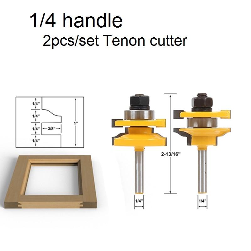 1/4 S forma de fresa armario puerta marcos cortador de madera ...