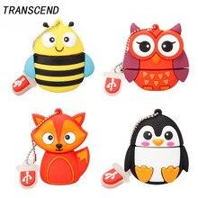 Transcend Hi-Speed USB 3.0 Owl Penguin Flash Drive External Storage 4GB 8GB 16GB 32GB 64GB Cute Animal Bee Series Free Shippin