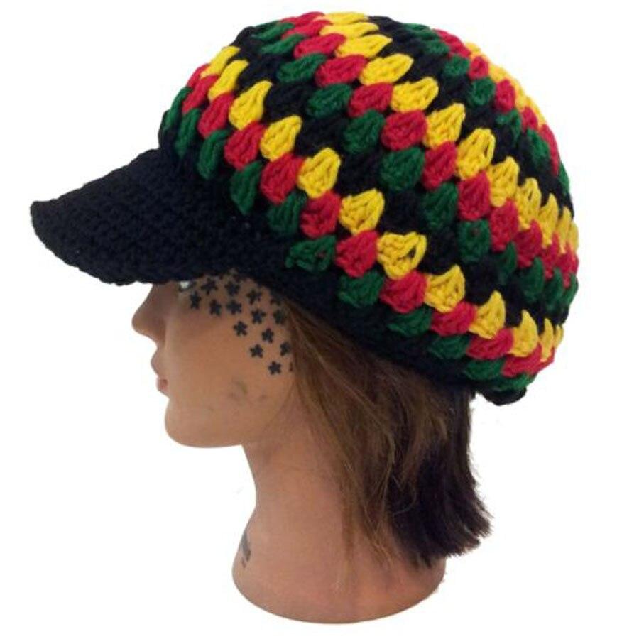 Jamaica Reggae Rasta Style Delux Baggy Beanie Kufi Hat Cap