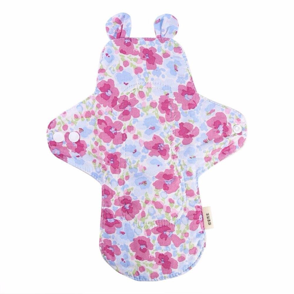 1PCS 250mm Reusable Organic Cotton Cloth Maternity Pads ...