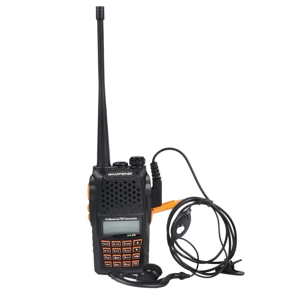 Cellphones & Telecommunications Open-Minded Baofeng Bf-uv6r Walkie-talkie Civil Hand-operated Radio Talkie 5w Hotel Construction Site Self Drive Tour Multi-purpose Diversified Latest Designs