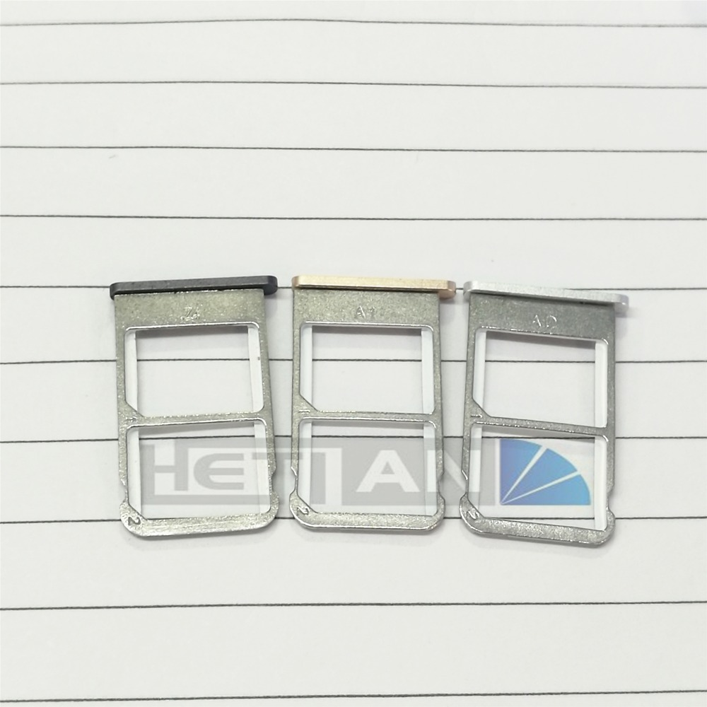 10PCS/Lot New SIM Card Slot Holder Tray Socket Adapter for Meizu Meilan X M3X Phone Repair Parts