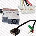 3 peças/lote genuine laptop dc power jack soquete cabo fio para hp 15-ac 15-ac000 15-ac010nr 15-ae 15-af 799736-f57 813945-001