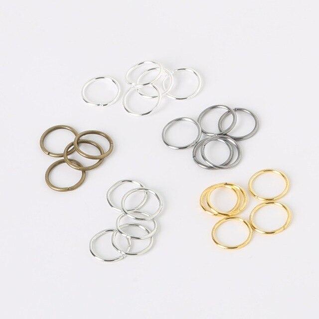 Hoge Kwaliteit 500 stks/partij 0.6*4mm Ijzer Enkele Loops Open Jump Rings Split Ringen Metalen Sieraden Bevindingen voor DIY Ketting Armband