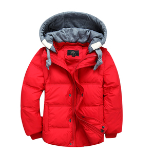 Image 2 - בני חורף מעילי נשלף ילדים חם למטה מעיילי אפוד ילדים סלעית מעיל ילדים עבה תרמית חיצוני להאריך ימים יותר 3 11Y