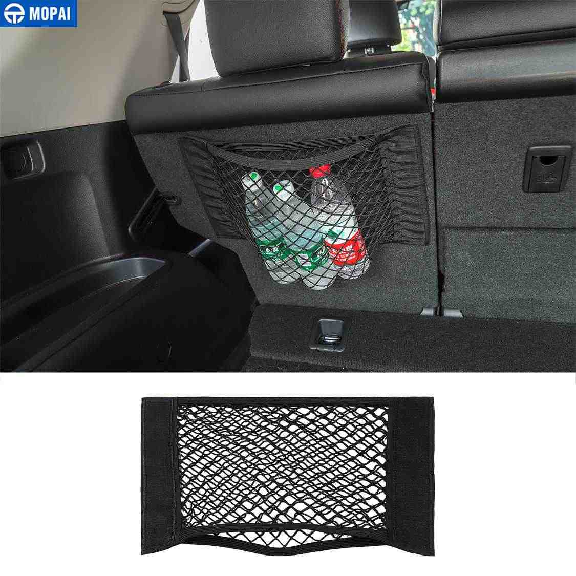 Mopai Car Mesh Net Bag For All Car Organizer Universal Storage Net Holder Pocket For Jeep Toyota 4runner Car Styling Accessories Stowing Tidying Aliexpress