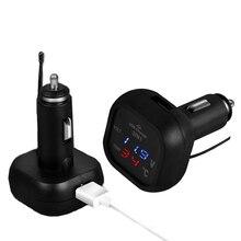 Автомобильное зарядное устройство USB 3в1 прикуриватель цифровой термометр телефон зарядка светодио дный дисплей Автомобильный адаптер электронные аксессуары