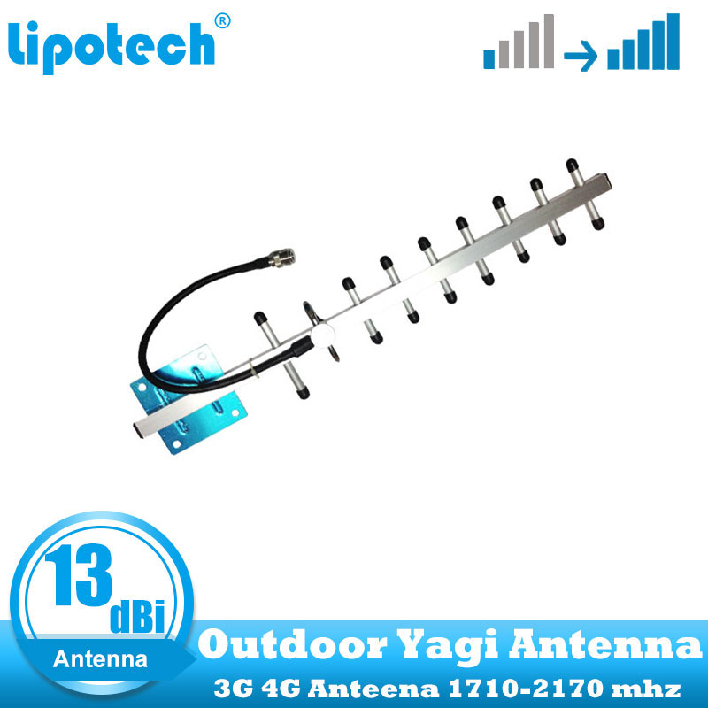 13dBi 3G 4G Antenna 3G Yagi Antenna 4G 3G Outdoor Antenna 4G LTE External Antenna With N Female For Signal Repeater Booster