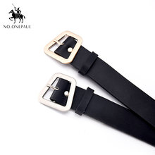 NO.ONEPAUL Fashion New Wide Lady's Belt Simple Baitao Edition Trendy Personality Fashion Belt Jeans Belt Four seasons are all(China)