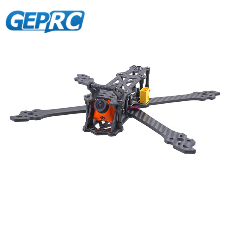 GEPRC GEP Mark 2 Freestyle 200mm 230mm 260mm FPV RC Drone X Frame Kit 4mm Arm w/ PDB 5V & 12V geprc gep zx4 gep zx5 gep zx6 170mm 190mm 225mm 4 axis 3k carbon fiber frame kit with 12v 5v pdb board for rc multicopter