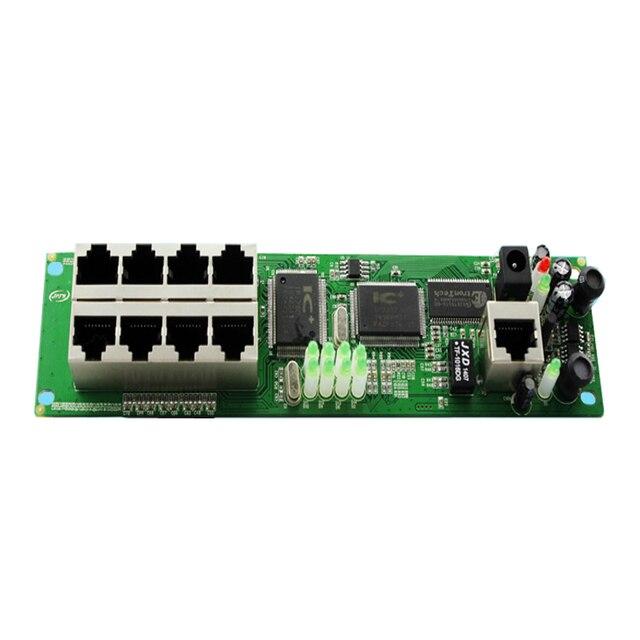 Mini router OEM üretici doğrudan satış, ucuz kablolu dağıtım kutusu 8-port yönlendirici modülleri OEM kablolu yönlendirici modülü 192.168.0.1