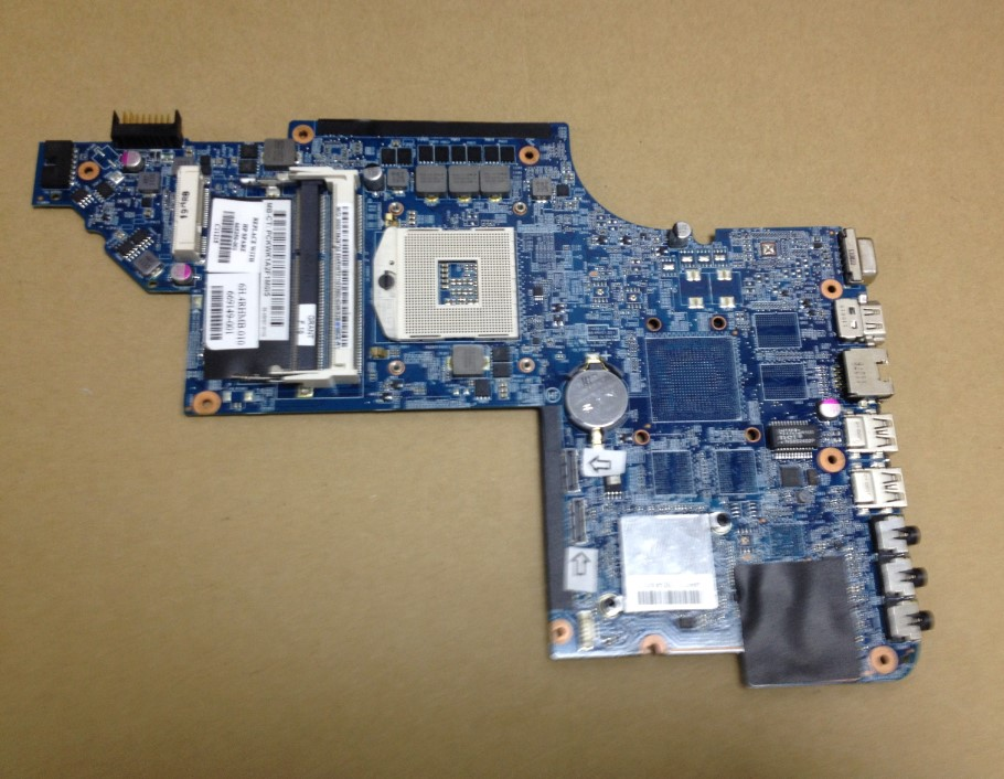 665350-001 For HP Pavilion DV6-6000 DV6T DV6 laptop motherboard 48.4RH09.021 DDR3 Free Shipping 100% test ok 574680 001 1gb system board fit hp pavilion dv7 3089nr dv7 3000 series notebook pc motherboard 100% working