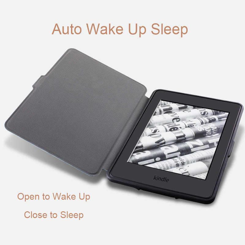 New Kindle Paperwhite 4 Case 2018 Silicon Soft Vintage E-book Cover for  Amazon Kindle Paperwhite 4 2018 Case Coque Fundas